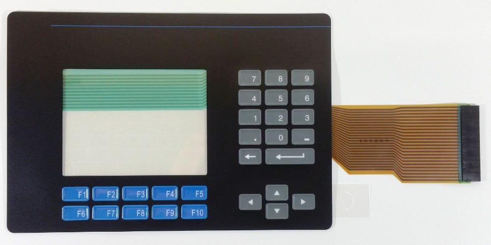 Panelview touch and Keypad