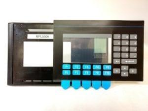 550 Bezel and keypad