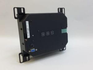 8 inch LCD back view