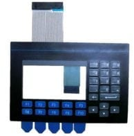 PV550 keypad and touchscreen in 1 unit