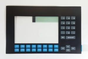Panelview 900 Keypad overlay