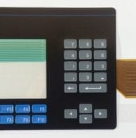 Panelview 600 touch and Keypad