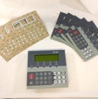 Keypad for Biesse machine