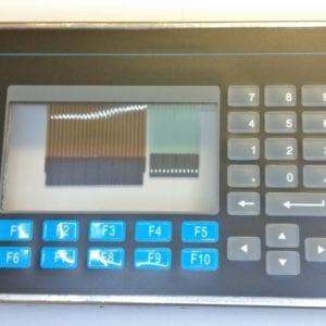 Panelview 550 replacement bezel with touch screen and keypad
