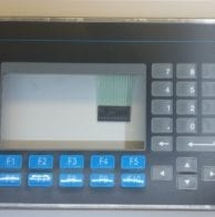 Panelview front bezel replacement and operator keypad