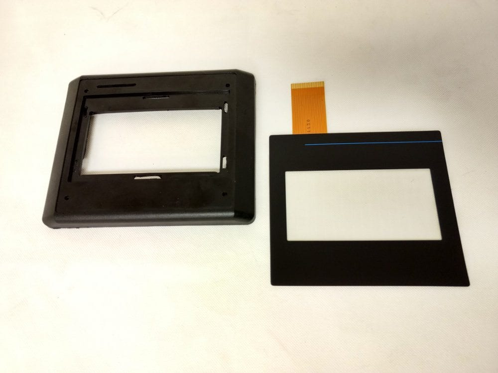 550 bezel and touchscreen