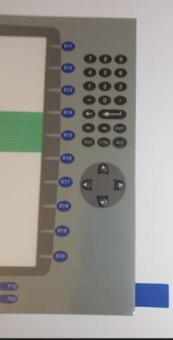 Panelview 1250P Keypad