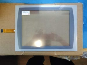 Panelview Plus 1500 touchscreen with overlay