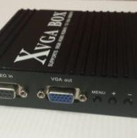 CGA to VGA signal converter box